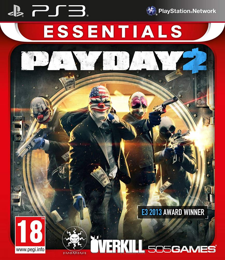 PayDay 2 /E.E./ (Bazar/ PS3)