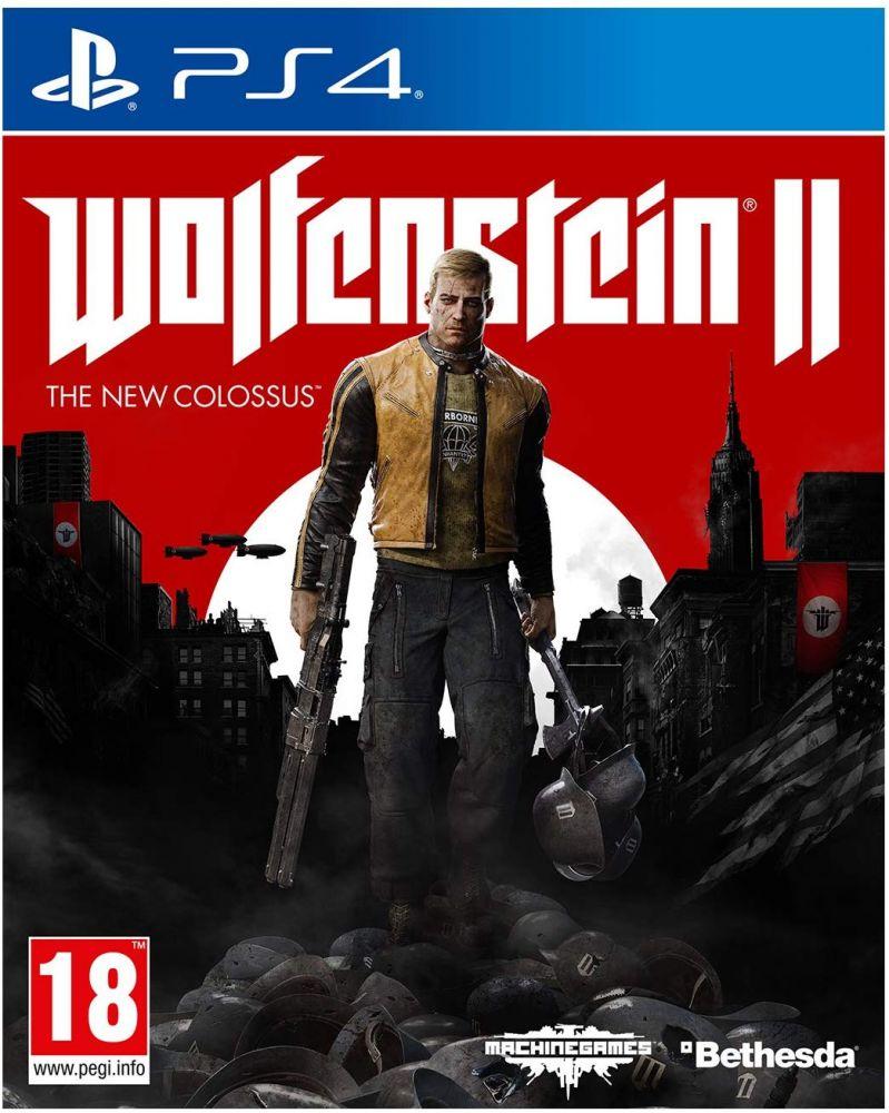 Wolfenstein 2: The New Colossus (Bazar/ PS4)