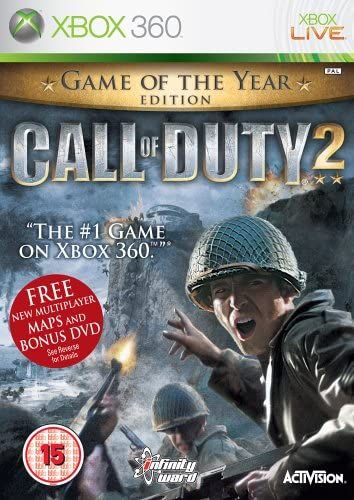 Call of Duty 2: Game of the Year Edition (Bazar/ Xbox 360)