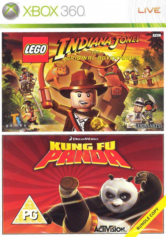 LEGO Indiana Jones + Kung Fu Panda (Bazar/ Xbox 360)