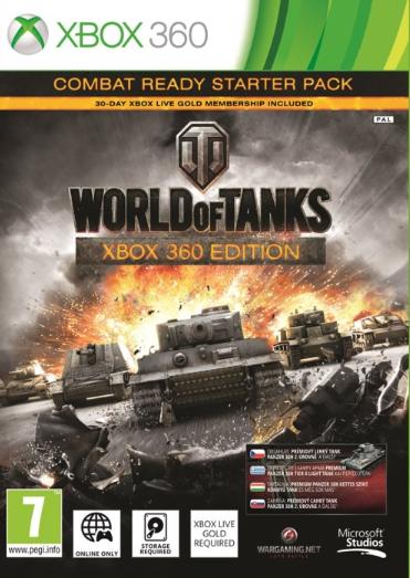 World of Tanks Combat Ready Starter Pack (Bazar/ Xbox 360) - CZ