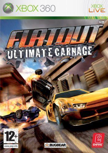 Flatout Ultimate Carnage (Bazar/ Xbox 360) - DE