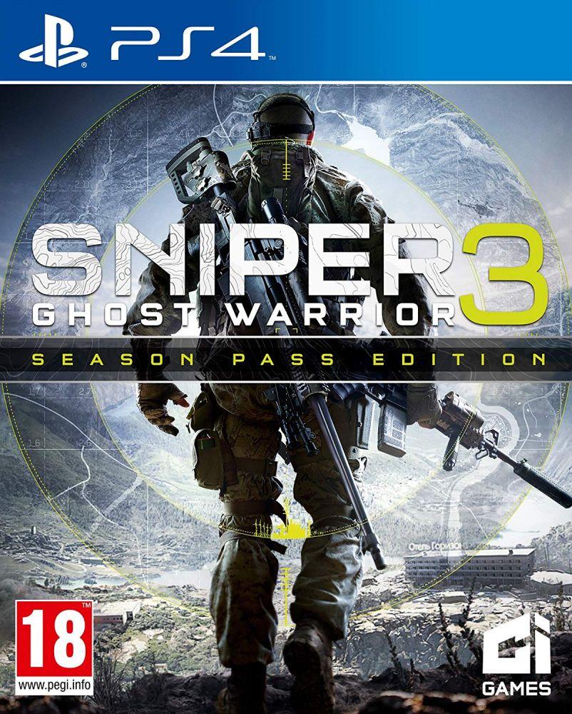 Sniper Ghost Warrior 3 /Season Pass Edition/ (Bazar/ PS4)
