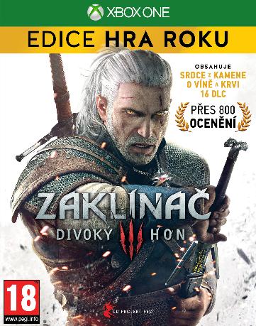 Zaklínač 3: Divoký hon - Edice Hra Roku (Bazar/ Xbox One)