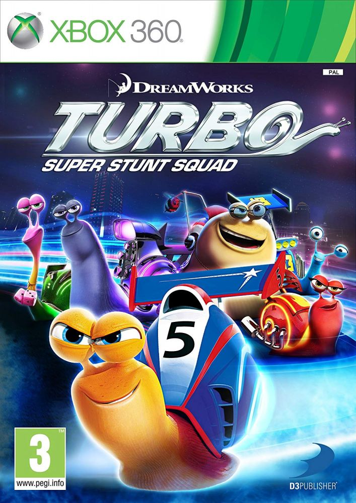 Turbo Super Stunt Squad (Bazar/ Xbox 360)