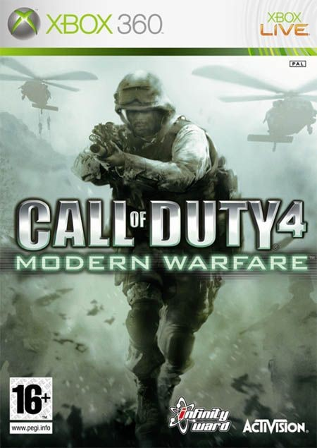 Call Of Duty 4: Modern Warfare (Bazar/ Xbox 360)