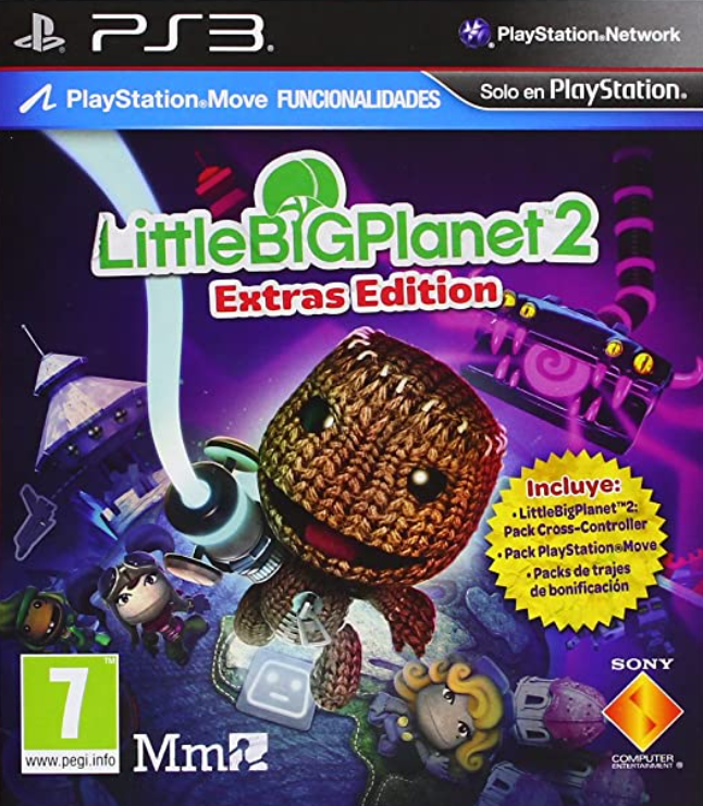 Little Big Planet 2 /Extras Edition/ (PS3 - Move) - CZ