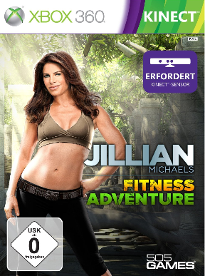 Jillian Michaels Fitness Adventure (Xbox 360 - Kinect) - DE
