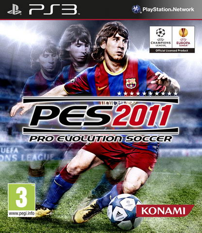 Pro Evolution Soccer 2011 {PES 2011} (PS3)