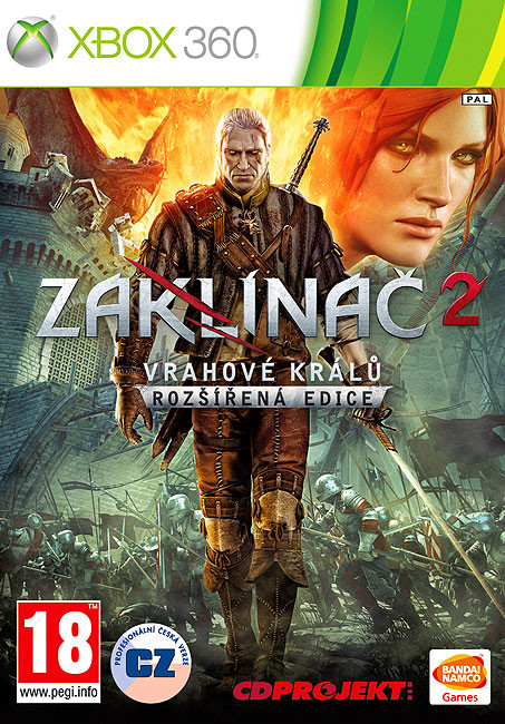 Zaklínač 2: Vrahové králů - Rozšířená edice (Xbox 360)
