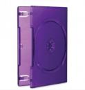 Obal na CD/DVD {plastová krabička} (Xbox 360 - Kinect) - fialová