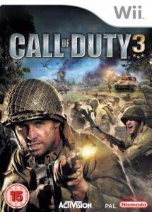 Call of Duty 3 (Bazar/ Wii)