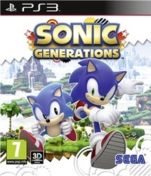 Sonic Generations (Bazar/ PS3)
