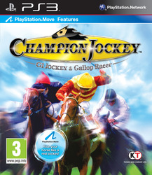 Champion Jockey: G1 Jockey & Gallop Racer (Bazar/ PS3 - Move)