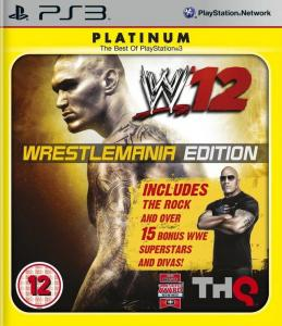 WWE SmackDown vs Raw 2012 /WWE 12/ (Bazar/ PS3)
