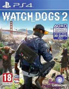 Watch Dogs 2 (PS4) - CZ