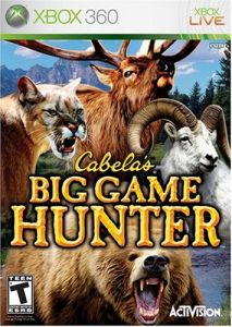Cabelas Big Game Hunter (Bazar/ Xbox 360)