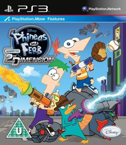 Phineas and Ferb Across the 2nd Dimension (Bazar/ PS3 - Move)