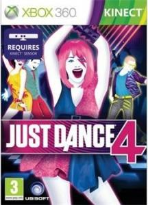 Just Dance 4 (Bazar/ Xbox 360 - Kinect)
