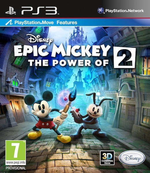 Epic Mickey 2: The Power of Two (PS3 - Move)