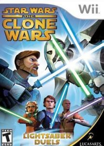 Star Wars The Clone Wars: Lightsaber Duels (Bazar/ Wii)