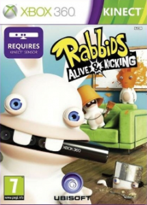 Raving Rabbids: Alive and Kicking (Bazar/ Xbox 360 - Kinect)