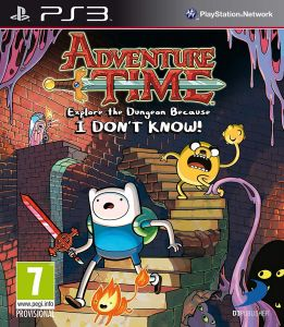 Adventure Time: Explore the Dungeon Because I Dont Know (Bazar/ PS3)