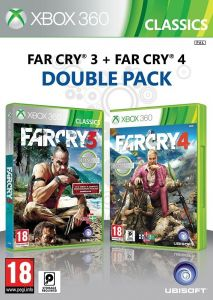 Far Cry 3 + Far Cry 4 /Double Pack/ (Bazar/ Xbox 360) - CZ