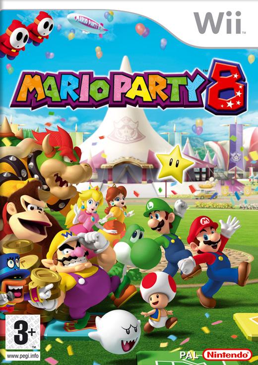 Mario Party 8 (Bazar/ Wii)