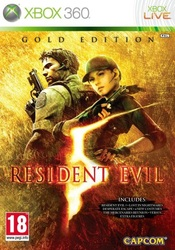 Resident Evil 5- Gold edition (Xbox 360)