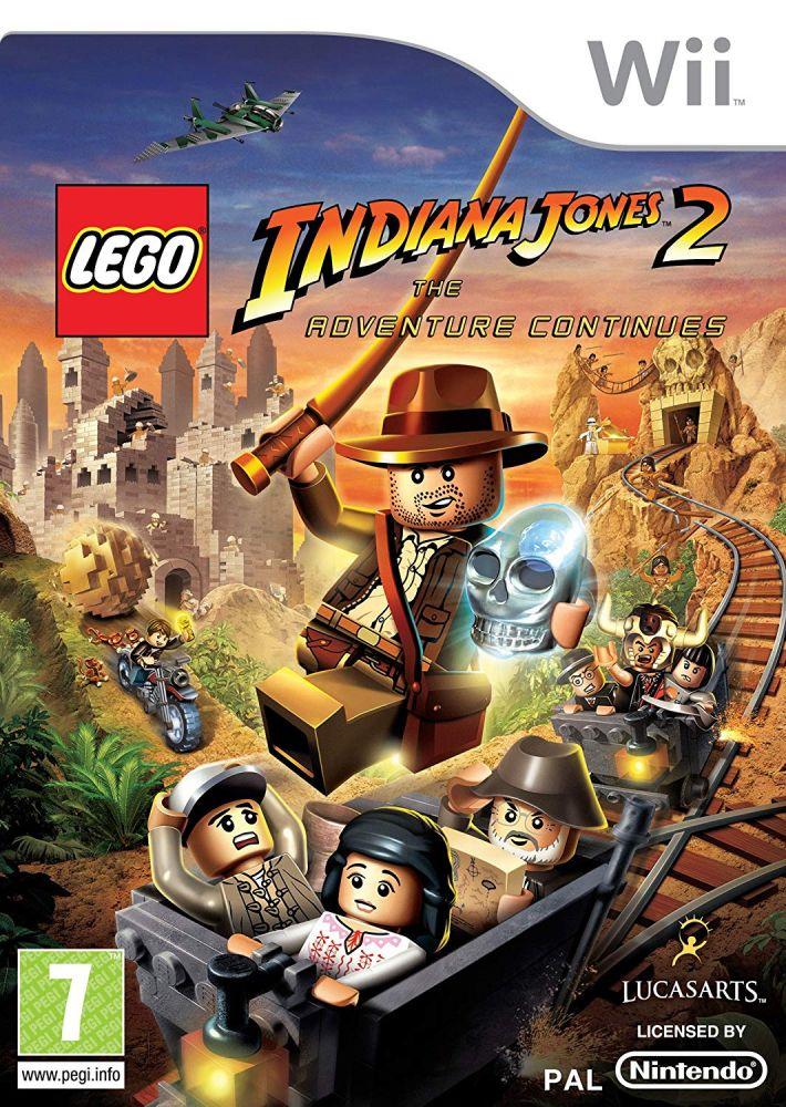 LEGO Indiana Jones 2: The Adventure Continues (Bazar/ Wii)